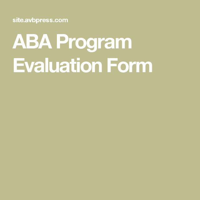 Die besten 25+ Program evaluation Ideen auf Pinterest - program evaluation forms