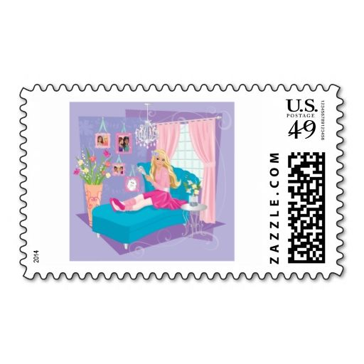 Best Barbie Postage Stamps Images On   Postage