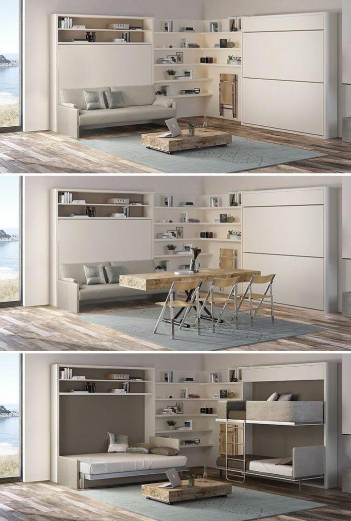 excellent la table basse relevable pour votre salon fonctionnel with table basse escamotable. Black Bedroom Furniture Sets. Home Design Ideas