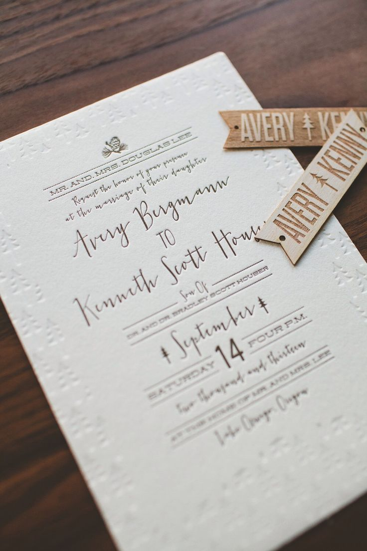 The 25+ best Modern letterpress wedding suite ideas ideas on ...