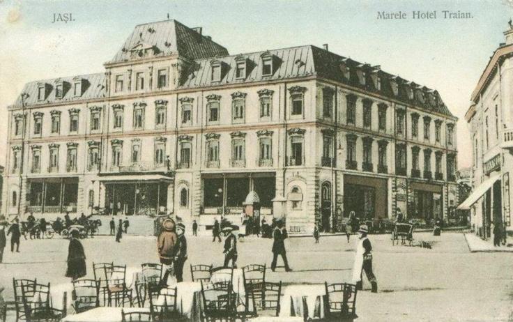 Iasi - Hotel Traian - 1914