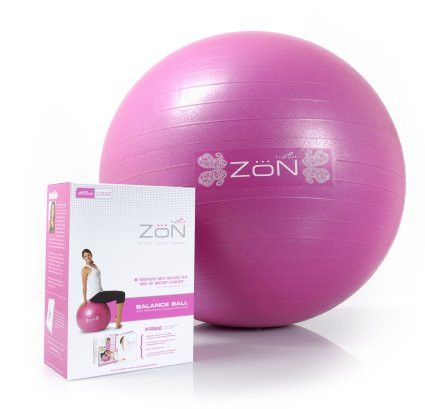 SAVE 40% on all ZoN Exercise Equipment and Accessories #exercise #fitness use #CodeZoN40 at check out. Includes 65cm Exercise Balance Ball, shown, Plus Pilates Bands, Step Platforms, Deluxe Ab Kits, and Wrist & Forearm Blaster all by ZoN.