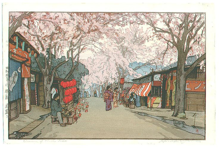 Pinturas Japonesas - HIROSHI YOSHIDA