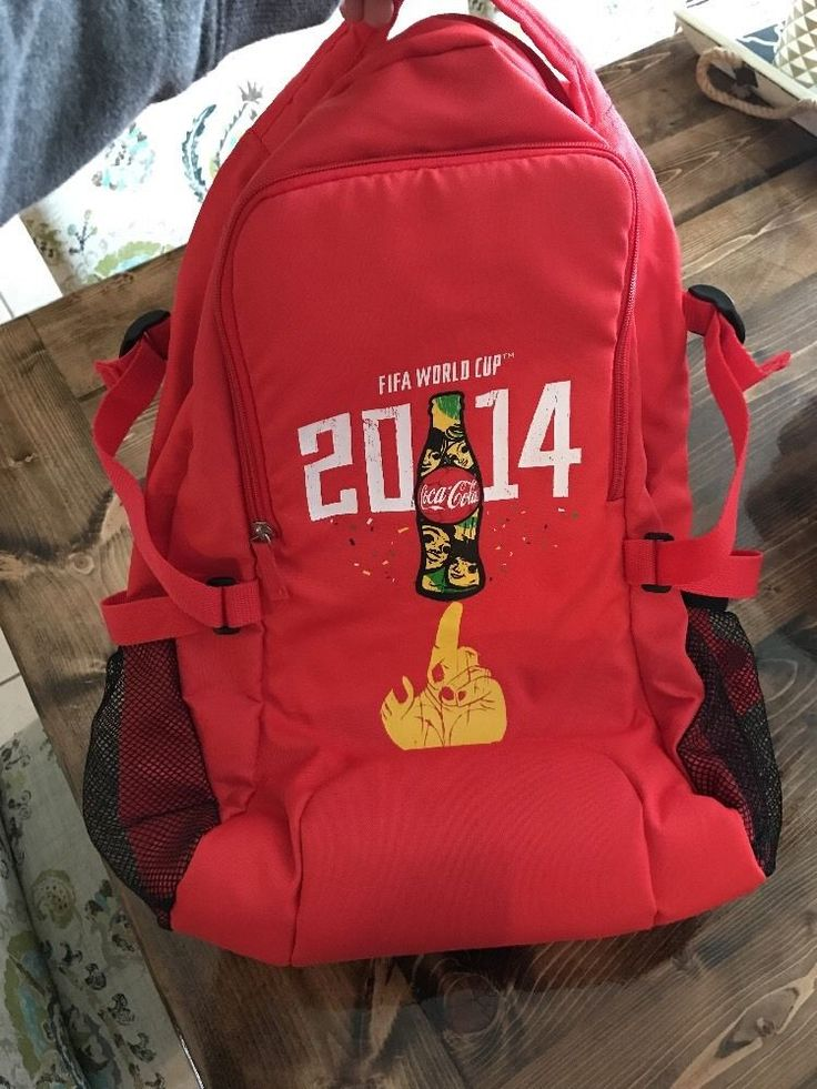 FIFA World Cup 2014 Book Bag Coca Cola  | eBay