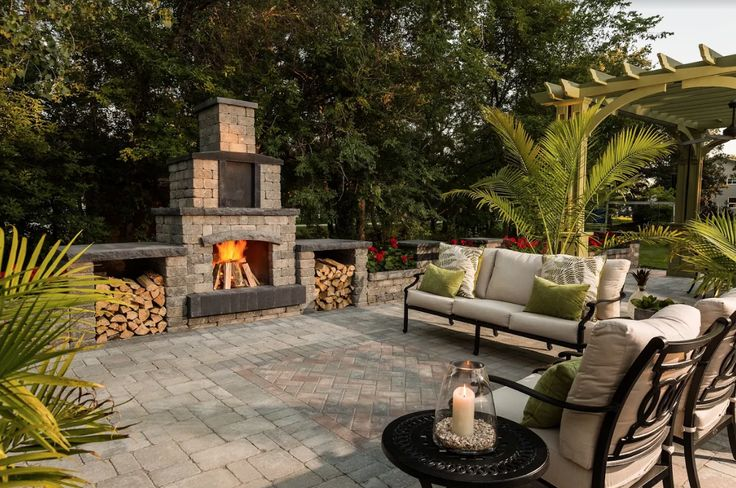 Stunning, low-maintenance concrete accents add function and beauty.
