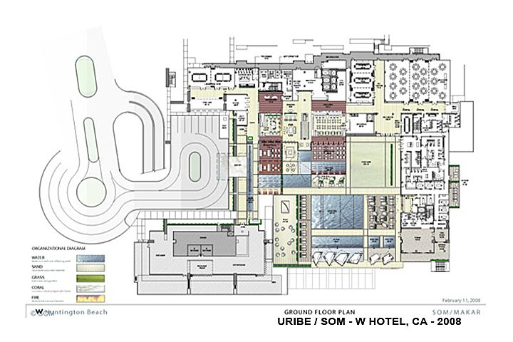W hotels floor plans google search plans pinterest for Hotel plan design