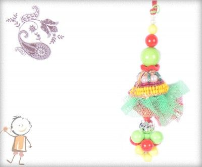 Lumba Rakhi - Send Online #Lumba #Rakhi – online rakhi. STUNNING COLORFUL LUMBA, surprise  loved ones with roli chawal, chocolates and a greeting card as it is also a part of our package and that too without any extra charges. http://www.bablarakhi.com/