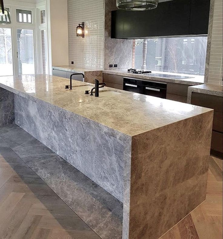 """189 Likes, 15 Comments - CDK Stone (@cdkstone) on Instagram: """"A stand out Portsea Grey Marble kitchen designed by @beatrixroweinteriordesign . Installation by…"""""""