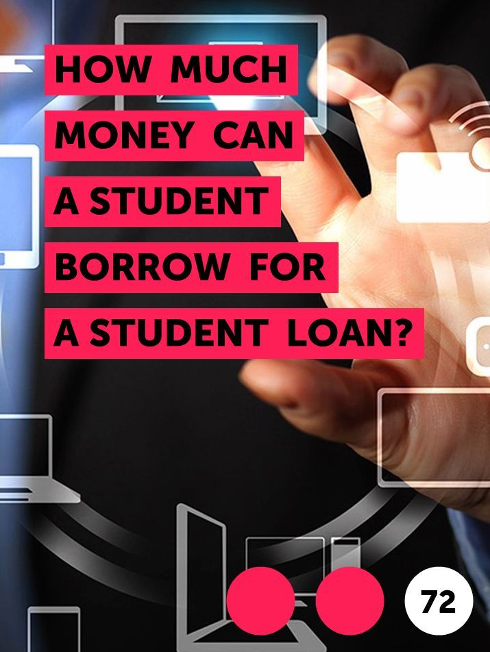 How Much Money Can A Student Borrow For A Student Loan In 2020 Student Loans The Borrowers Federal Student Loans