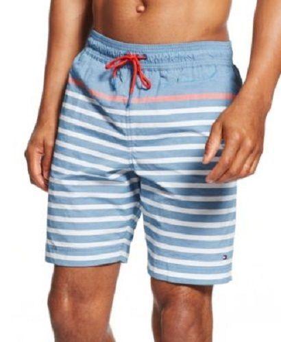 Tommy Hilfiger Men's Striped Board Shorts Swim Trunks XLarge XXLarge NWT M1  #TommyHilfiger #BoardShorts