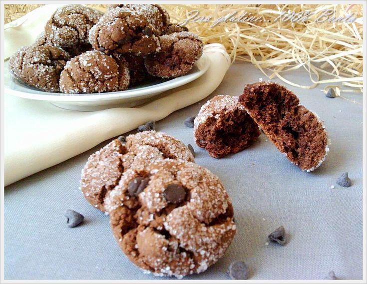 Biscotti al cacao senza uova