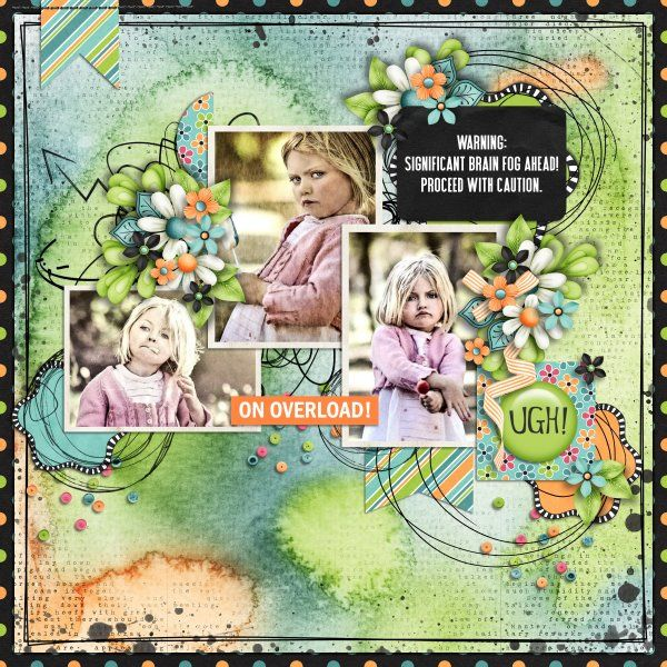 Kit Thunderstorm In My Head by Jumpstart Designs. Freebie Template Memory Keeper by Little Bit Shoppe. Photos per kind favour of Marta Everest Photography.