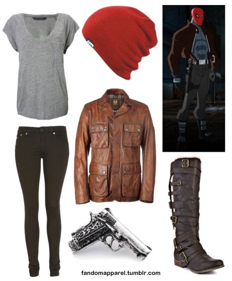 Such a great Red Hood inspired outfit!