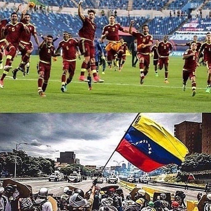 """7,222 Me gusta, 31 comentarios - Diario El Nacional (@elnacionalweb) en Instagram: """"Las dos caras de nuestra Venezuela. Caras protagonizadas por la juventud. Esas que pretenden…"""""""