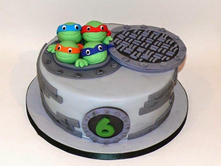 Be Sweet: reposteria creativa: Cake Tortugas Ninja