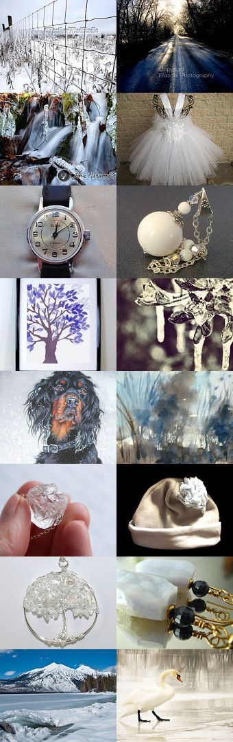 icy winter by Péter László on Etsy--Pinned with TreasuryPin.com