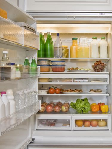 EXTEND VEGGIE FRESHNESS:  Line the bottom of your refrigerator's crisper drawer with paper towels. They'll absorb the excess moisture that causes veggies to rot.