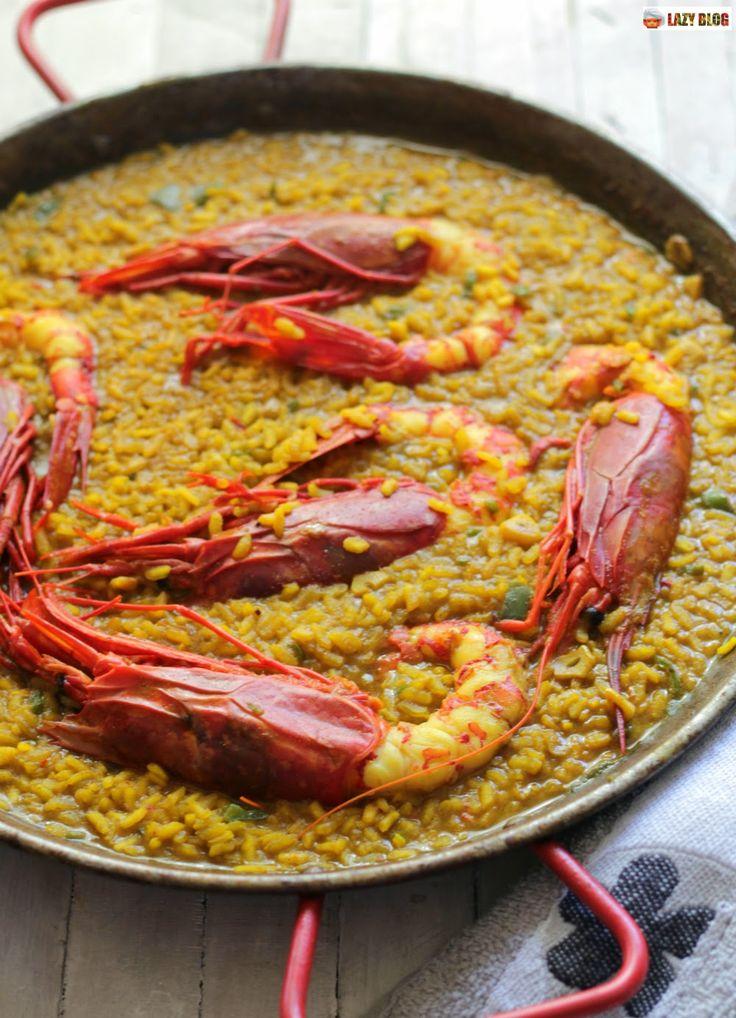 Lazy Blog: Receta de arroz con carabineros