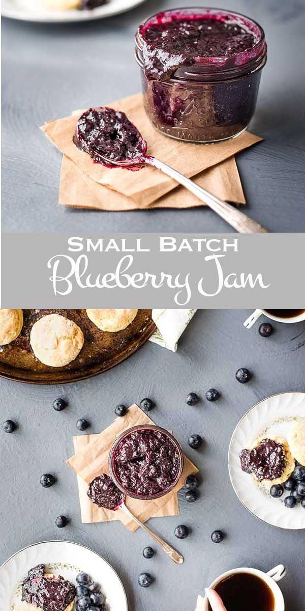 Small Batch Blueberry Jam