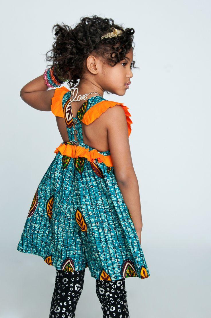 Isossy Children | Model Nia Miah wears the Isossy Children Tookie...
