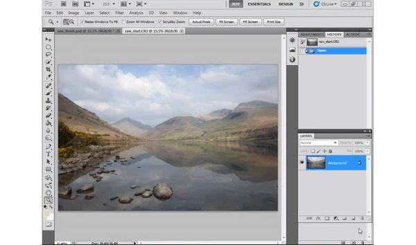 Tutorial: Transform photos using Adobe Camera Raw