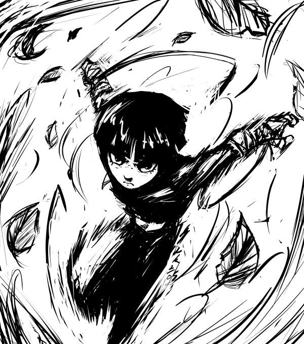 rock lee drawing | ANIME/CARTOONS | Pinterest