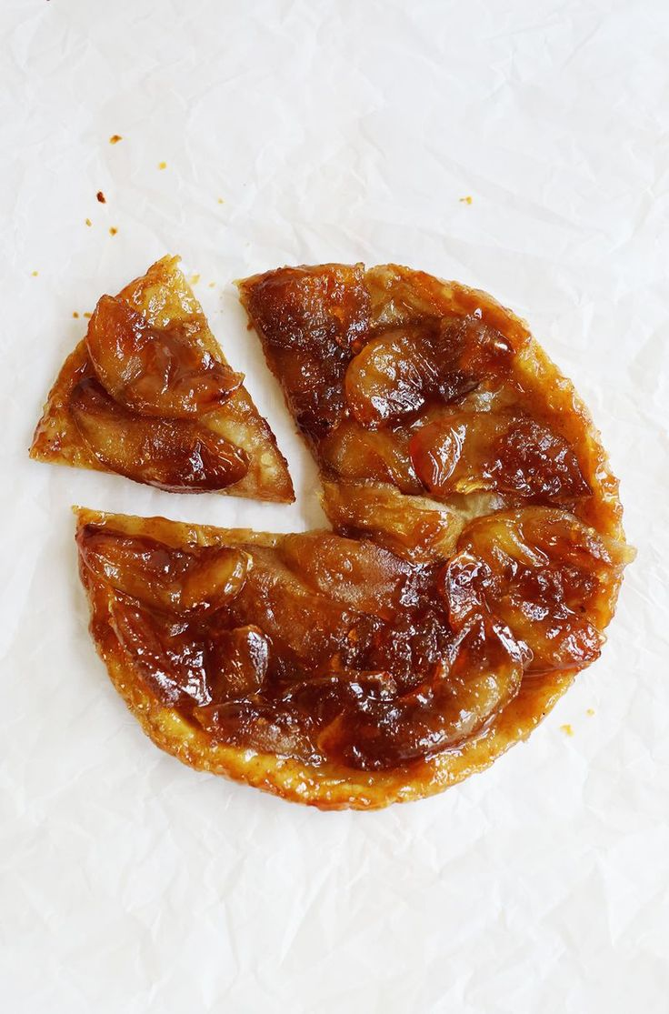 Apple Ginger Tarte Tatin (via abeautifulmess.com)