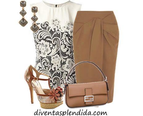 outfit elegante estivo diventasplendida.com