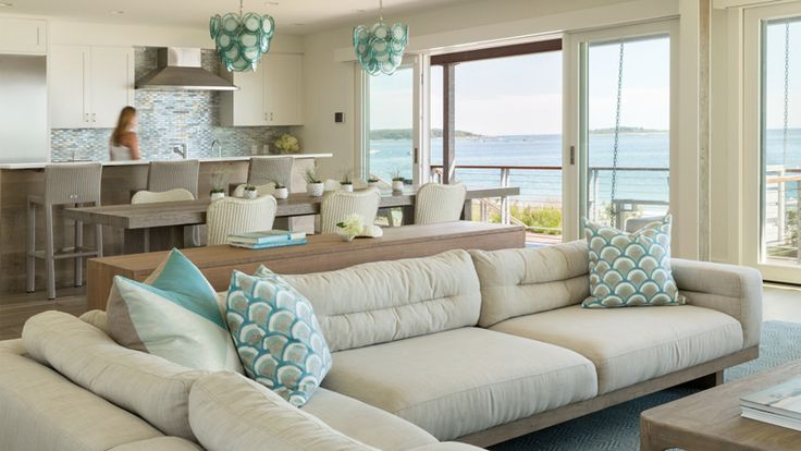 lovely beach house living room | 2374 best images about Lovely Living Rooms on Pinterest ...
