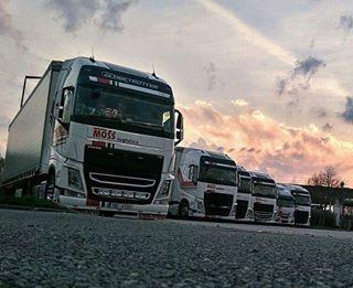 Nedelni MOSS Rozvadov. Stastny dolet, hosi! #mosslogistics #moss #rozvadov #hranice #cara #hranice #ontheroad  #trucking #truck #volvotruck #iveco #ivecotruck #truckinglifestyle #swedenpower #trucks #sunset #mossujem #mosstruck