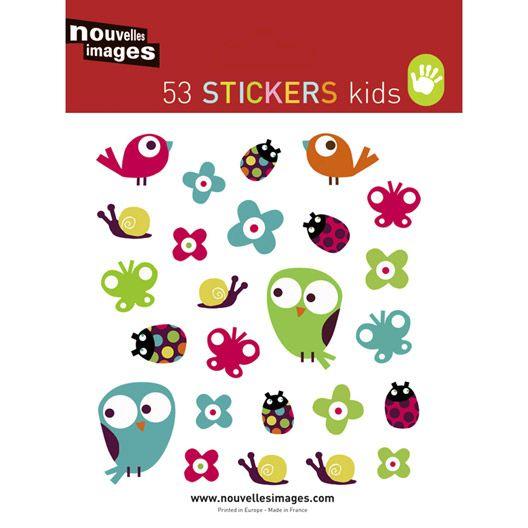 Sticker Birdy, 16 x 24 cm