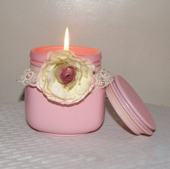 English Garden Wedding / Rose Quartz Pink by CarolesWeddingWhimsy, This Shabby…