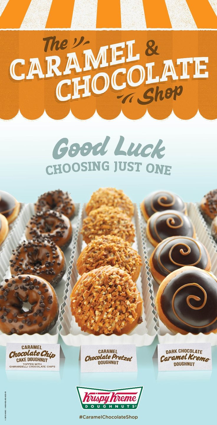 Chocolate and Caramel is a classic reward-yourself combination, and this summer Krispy Kreme® is putting a sweet and savory twist on these irresistible favorites available at US and Canadian locations.