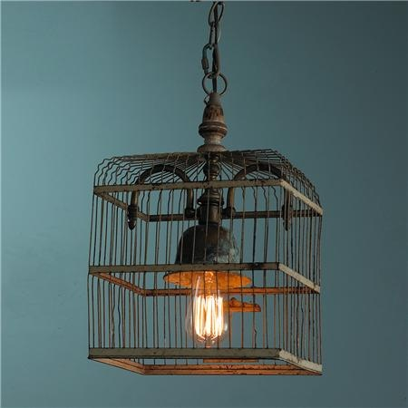 repurposed vintage birdcage light fixture (//.flickr.com/ : vintage lighting supply - azcodes.com