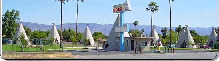 The Wigwam Motel San Bernardino, CA  - The Cozy Cone Motel from the movie CARS was based upon this hostoric route 66 motel!