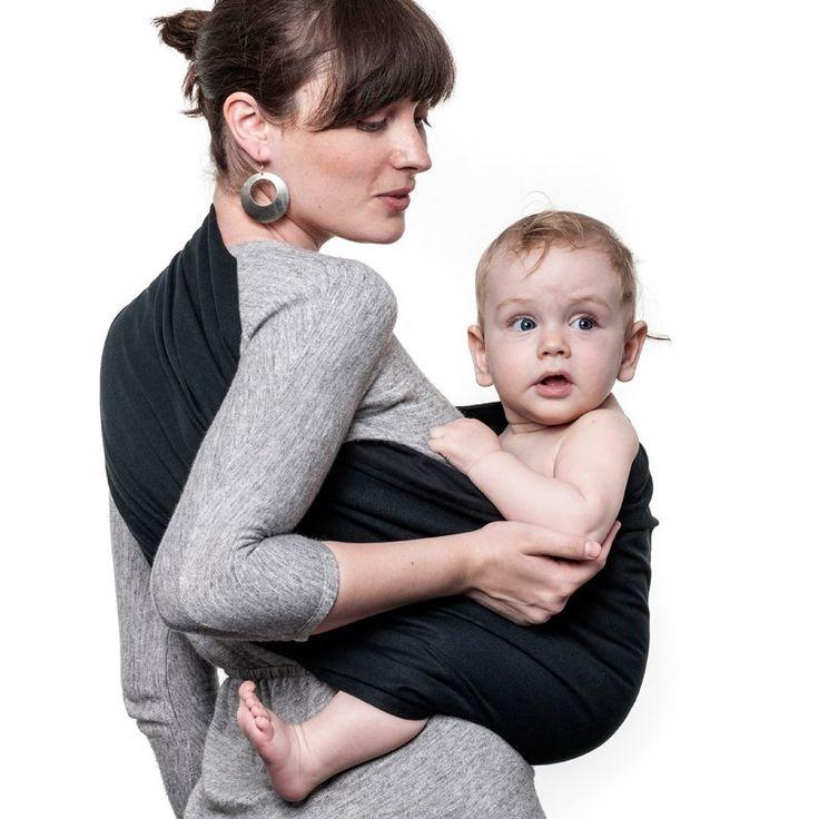 Liliputi® Ring Sling - Classic Line - Noir #babywearing #ringsling