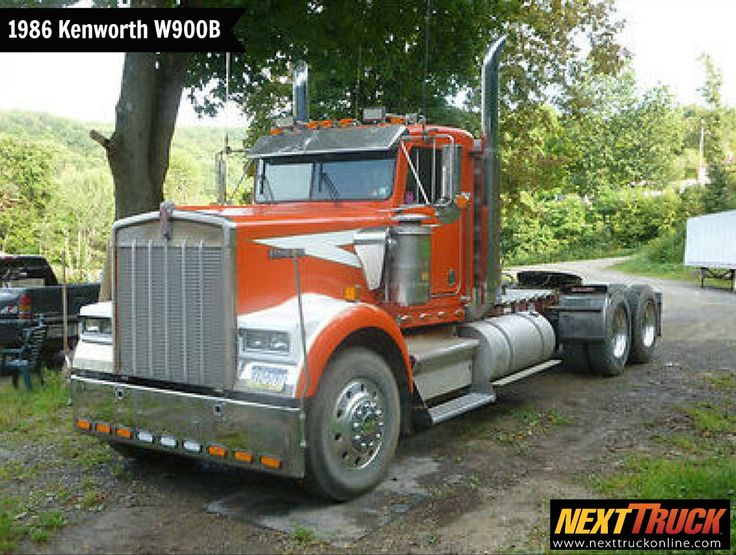 #ThrowbackThursday Check out this 1986 #Kenworth W900B Day Cab! View more Kenworth #Trucks at http://www.nexttruckonline.com/trucks-for-sale/by-make/Kenworth #Trucking