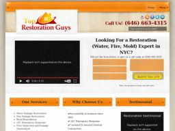 New listing in Fire and Water Damage Cleaning and Restoration added to CMac.ws. Top Restoration Guys of NYC in New York, NY - http://fire-damage-restoration-services.cmac.ws/top-restoration-guys-of-nyc/8370/