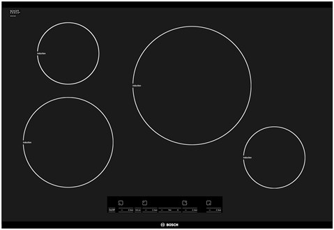 Bosch Countertop Stove : cooktop from Bosch. It fits seamlessly into your kitchen countertop ...