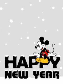 Dibujos animados para Año Nuevo. Disney Happy New Year gif como estosdibujos animados para Año Nuevo con Mickey Mouse para enviar gratis online. Animados Disney de Año Nuevo. Envía online gratis e...