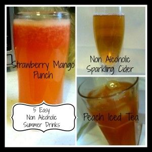 5 Non Alcoholic Summer Drinks That Are Easy to Make