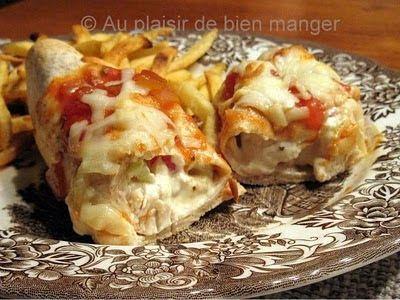 AU PLAISIR DE BIEN MANGER: Enchiladas au poulet