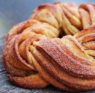 Pão Grinalda de Canela - Máquina de Pão