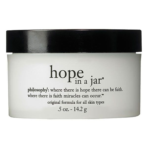 Women's philosophy 'hope in a jar' for all skin types ($14) ❤ liked on Polyvore featuring beauty products, skincare, face care, fillers, beauty, makeup, simple set fillers, philosophy skincare and philosophy skin care