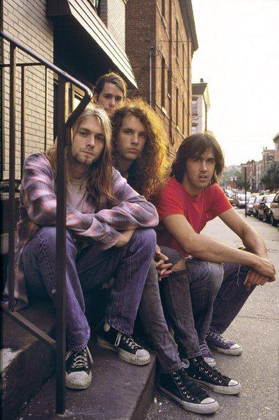Kurt Cobain 1989