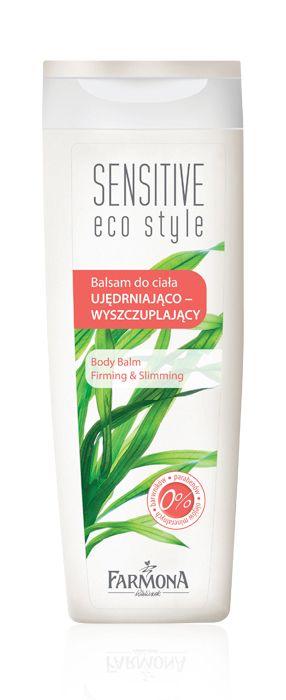 BODY BALM firming & slimming   Balsam wyszczuplająco-ujędrniający opracowano do codziennej pielęgnacji każdego rodzaju skóry,  szczególnie pozbawionej jędrności i wymagającej wyszczuplenia ♥ http://farmona.pl/produkty/pielegnacja-ciala/sensitive-eco-style/balsam-do-ciala-wyszczuplajaco-ujedrniajacy/