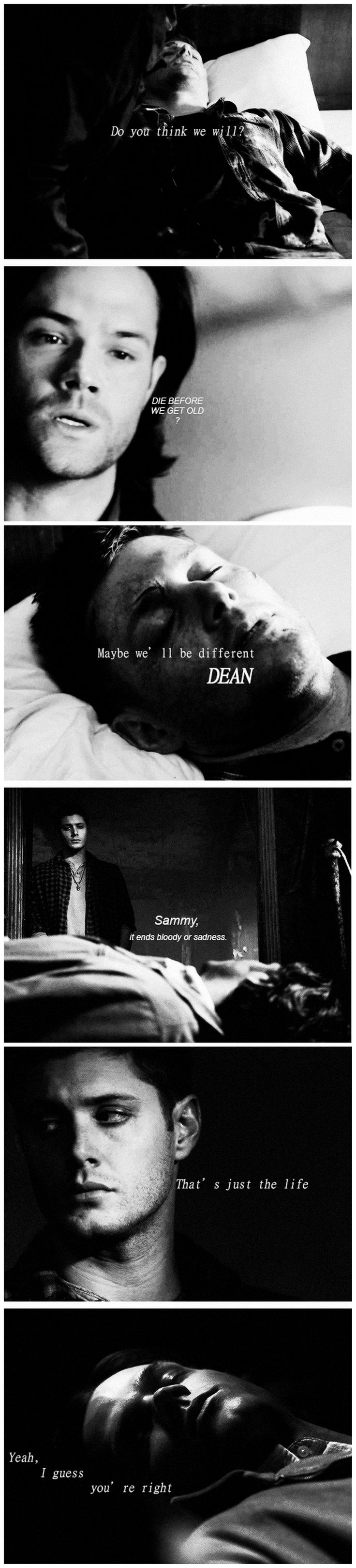 2x22 All Hell Breaks Loose (Part 2) and 9x23 Do You Believe In Miracles #SPN #Dean #Sam