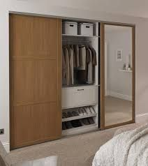 Image result for wardrobe doors with mirrors