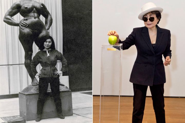 Yoko Ono's MoMA exhibit instructs visitors to 'touch eachother'