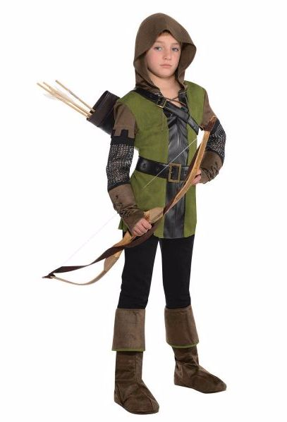 Shop for Robin Hood Fancy Dress for boys at Totally Fancy. Great Prince of Thieves fancy dress costume for children perfect for your child's World Book Day Costume!